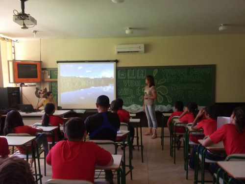 Secretaria Municipal de Meio Ambiente realiza Palestra em Campineiro do Sul.