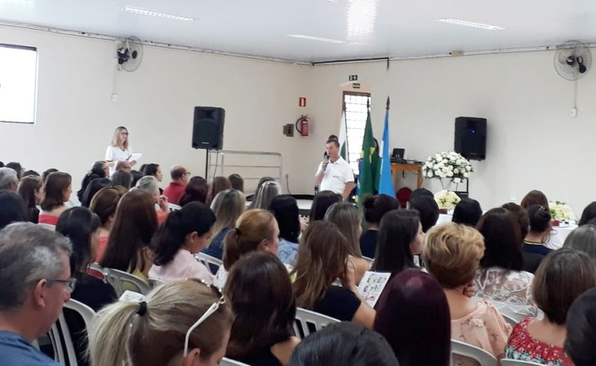 EDUCAÇÃO - Prefeito Gallo participa da abertura do ano letivo 2019
