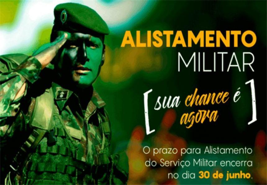 Alistamento Militar obrigatório vai até dia 30 de junho