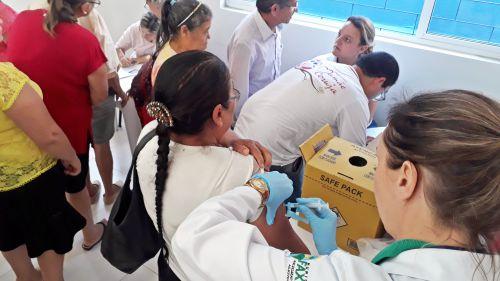 Dia de vacinação contra a gripe na Melhor Idade