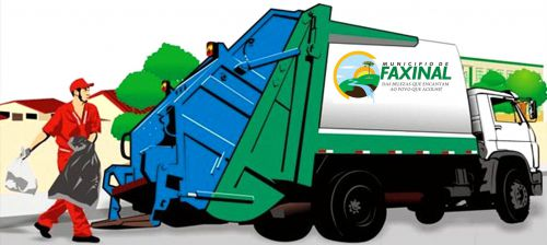 Faxinal passará cobrar coleta de lixo parcelado na conta de água
