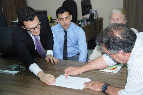 Juíz, promotor, prefeito e delegado de Faxinal discutem segurança pública