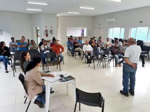 Secretaria Municipal da Educação se reúne com Motoristas do Transporte Escolar