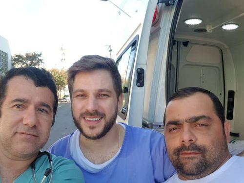 Gestante de Faxinal da a luz dentro da ambulância a caminho de Apucarana
