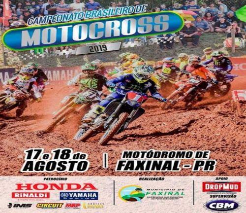 5ª Etapa de Motocross Nacional Chega em Faxinal Neste Final de Semana