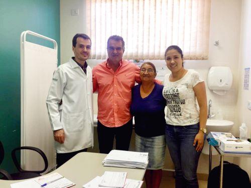 Mutirão da Saúde atende mais 120 pacientes em Faxinal