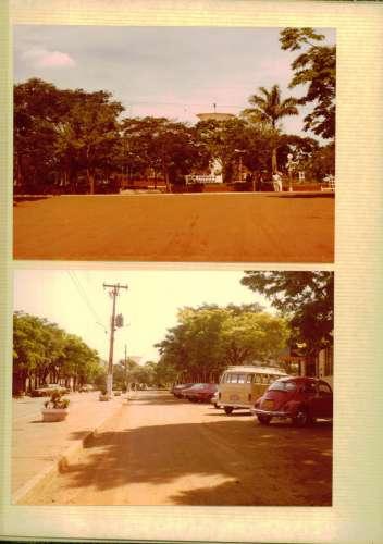 Praça Brasil reconstrução. Foto: Dionísio A. Musiato – 1979.