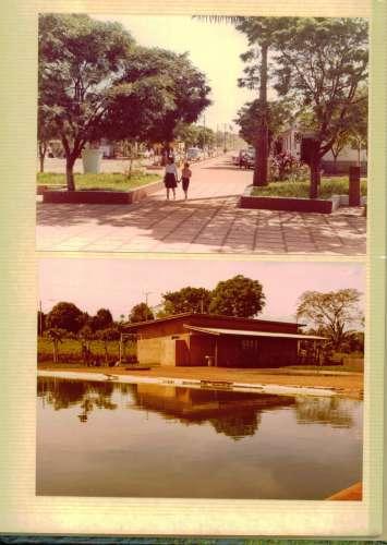 Praça Brasil e Avenida Ivaí. Foto: Dionísio A. Musiato – 1979.