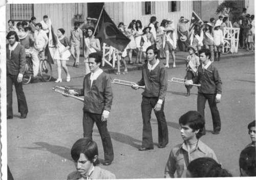 Desfile Cívico. Desfile de 1978. Foto: Joel Rodrigues da Costa – 1978.