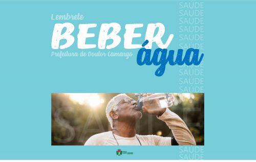 Por que devemos beber água no verão?