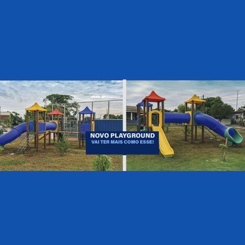 Novo Playground- Saiba Mais...