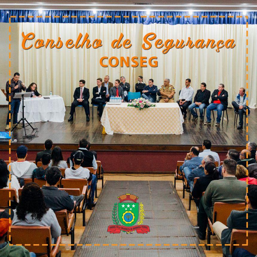 Conselho Comunitário de Segurança - Conseg