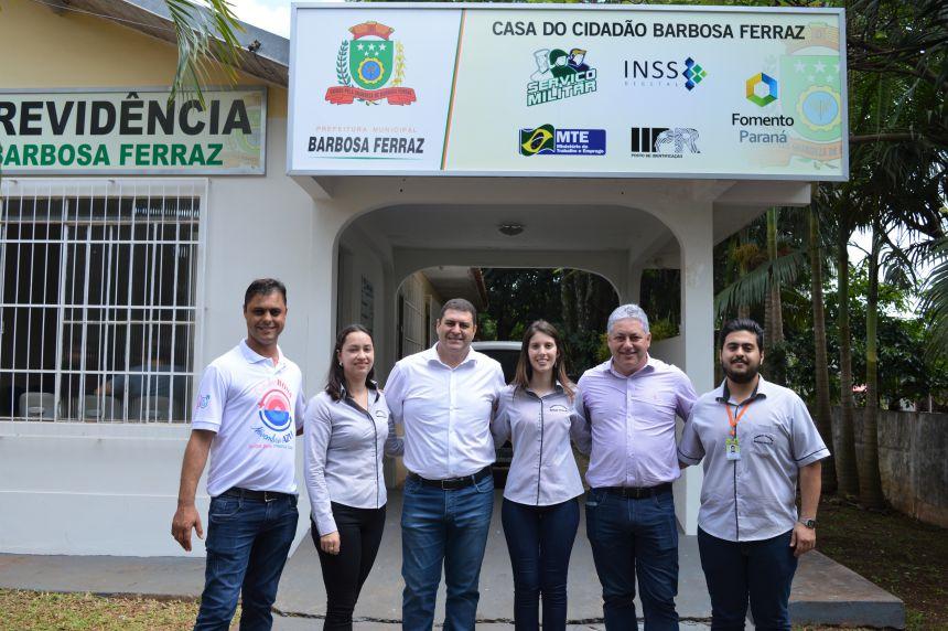 Inauguração do Banco do Empreendedor