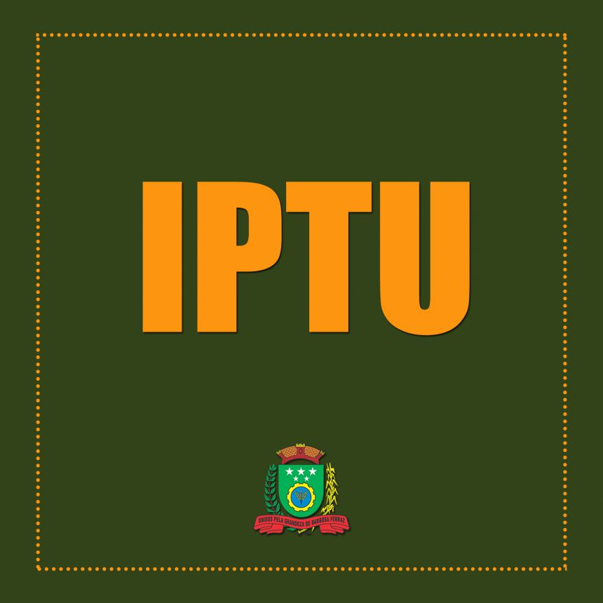 Lançamento do Imposto Predial e Territorial Urbano (IPTU)