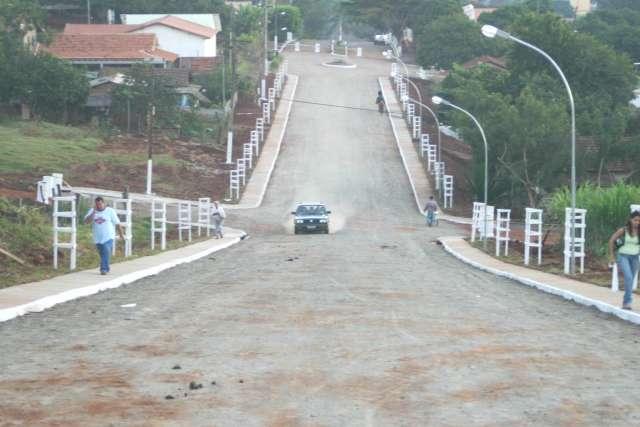 Inaugurada obras de urbanização na região do Santuário