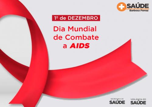 Dezembro Vermelho - Luta contra a AIDS