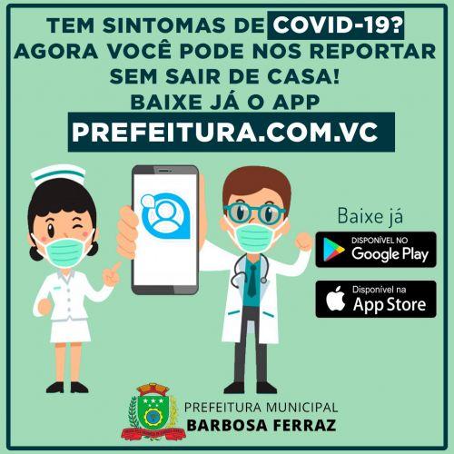 Baixe o app PREFEITURA.COM.VC