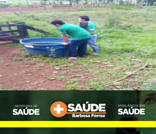 Agentes de Combate a Endemias realizam ações contra dengue