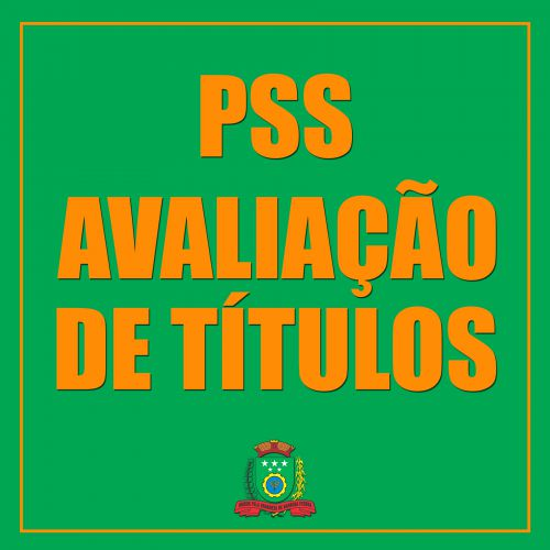 Avaliação de Títulos - PSS.