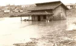 Enchente Rio das Lontras