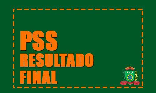 Edital de Divulgação do Resultado Final - PSS