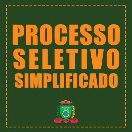 PROCESSO SELETIVO SIMPLIFICADO - PSS Nº 001/2017