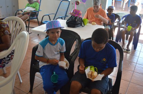 Aniversariantes mês de outubro e novembro do Lar do Idoso Santa Rita