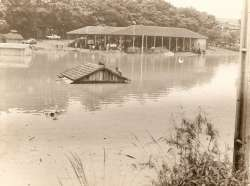 Enchente no Rio das Lontras