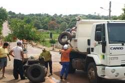Cidade se mobiliza no arrastão contra a dengue