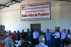 Produtores Rurais ganham novo barracão