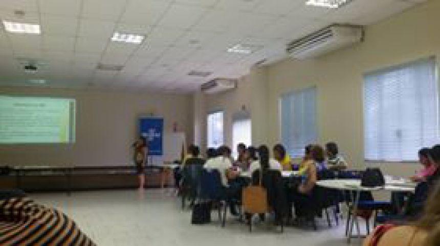 CRAS participa de Curso para capacitação.