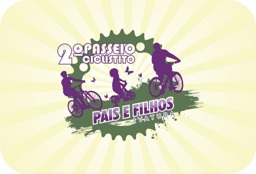 Vem ai o II Passeio Ciclístico Pais e Filhos