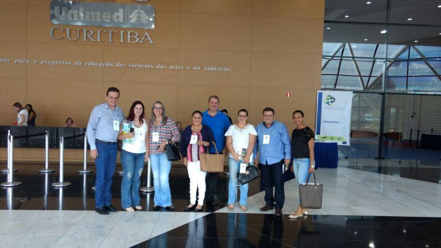 Secretaria de Saúde participa de encontro em Curitiba