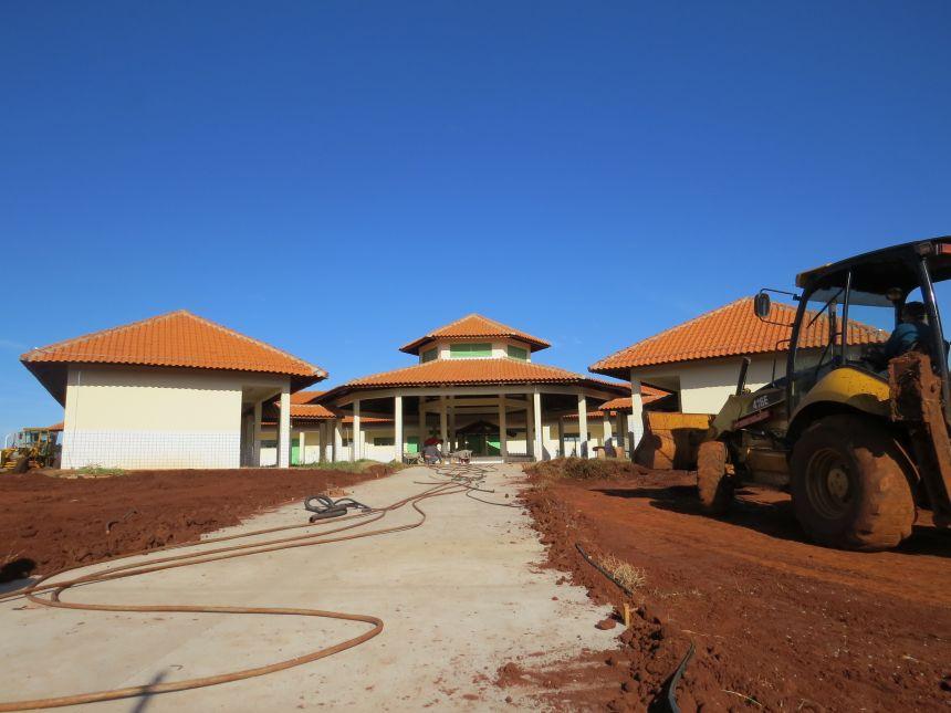 As obras da Nova Escola continuam a todo vapor!