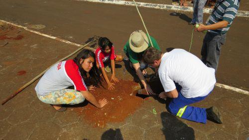 A Secretaria de Meio Ambiente e Turismo, realizou