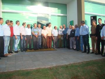 Inauguração da Cocamar (Unidade de Ivatuba)