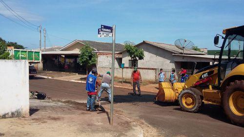 O ano se inicia com limpeza no Município