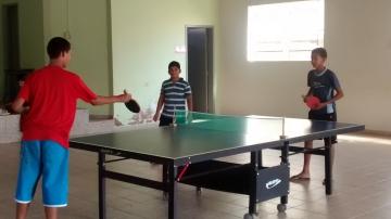 Atividades recreativas na Secretaria de Esporte e Lazer