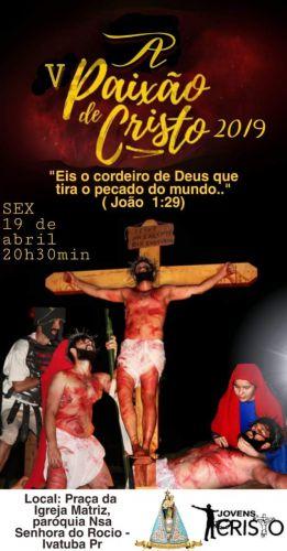 A Paixão de Cristo 2019