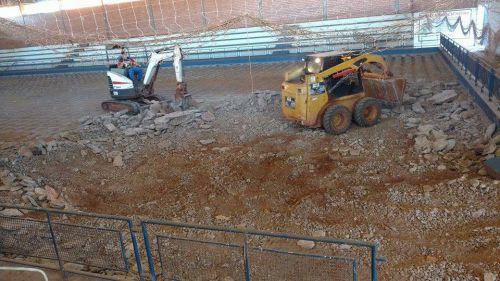 """Inicia as obras do Ginásio de Esporte """"Nivaldo Trevisan"""""""