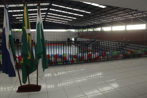 "Prefeitura de Ivatuba reinaugura Ginásio de Esporte ""Nivaldo Trevisan"""