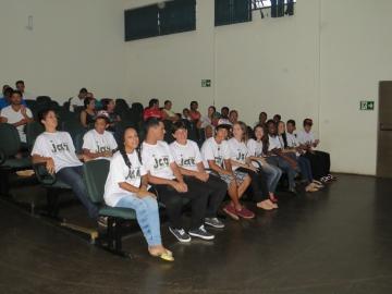 Formatura dos participantes do Programa