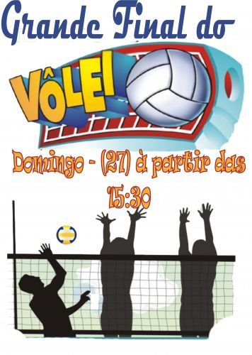 Grande Final do Campeonato de Vôley