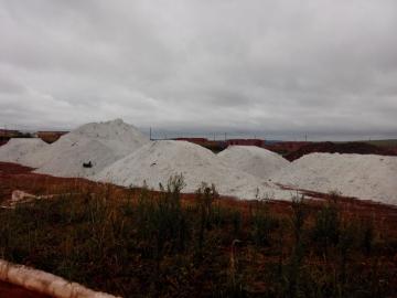 Município recebe 340 toneladas de gesso agrícola