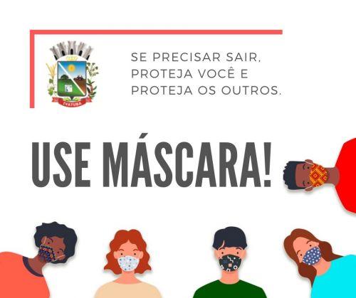 ESTÁ DECRETADO, USE MÁSCARA!