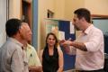 Deputados Enio Verri e Edmar Arruda visitam Ivatuba