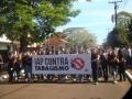 IAP promove passeata contra o tabagismo