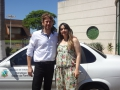 Deputado federal Zeca Dirceu faz entrega de carro à Ivatuba