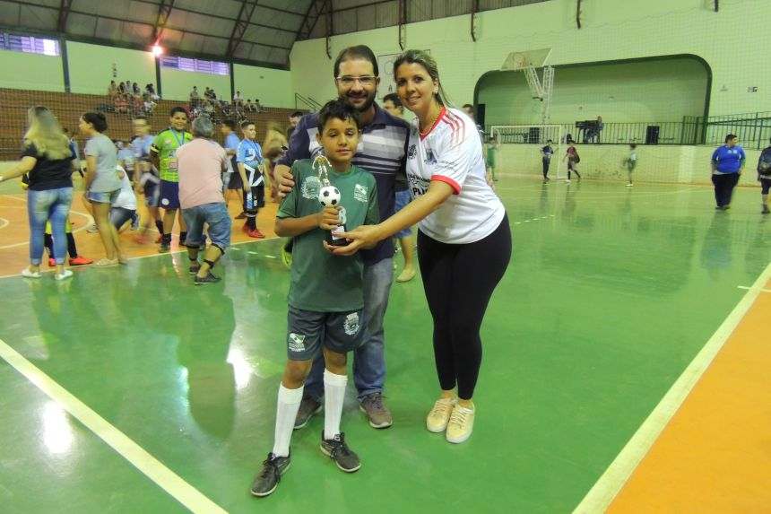 FINAL DA LIGA DE FUTSAL UNIDOS VALE DO IVAÍ - CATEGORIA DE BASE