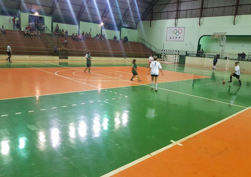 Abertura do Campeonato Municipal de Futsal 2018